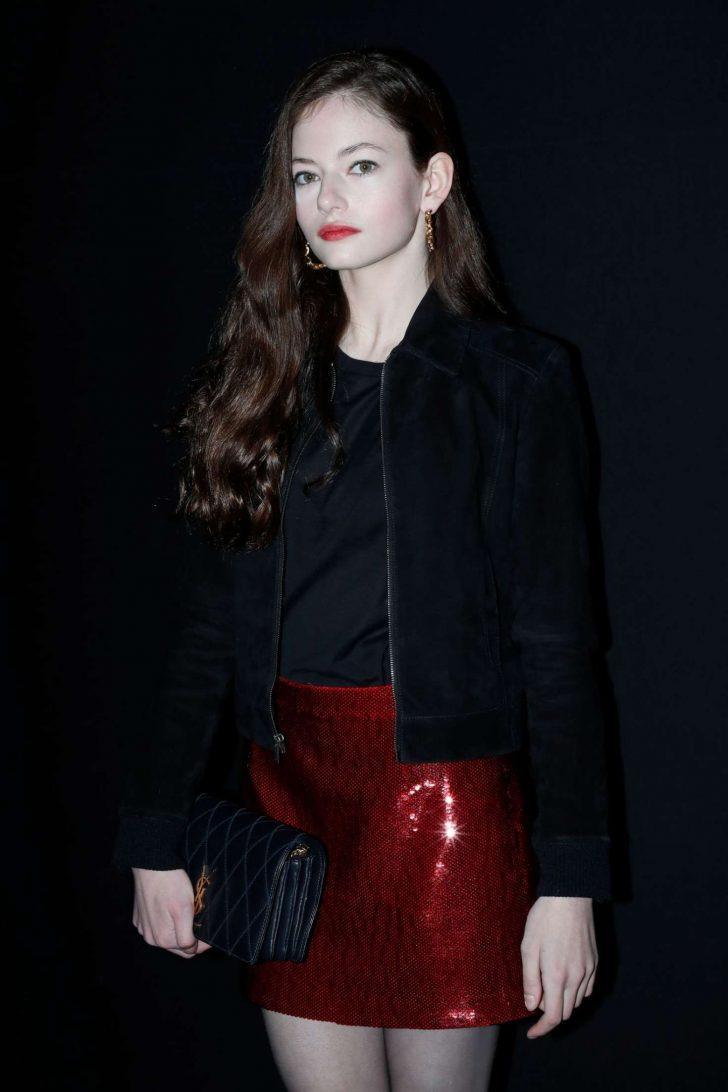 Mackenzie Foy - Saint Laurent Fashion Show in Paris