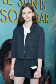 Mackenzie Foy - 'The Sun is Also A Star' Premiere in Los Angeles