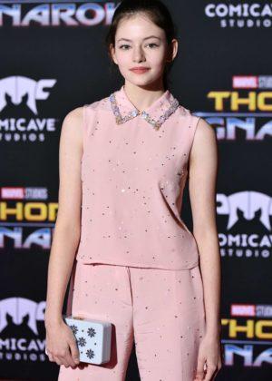 Mackenzie Foy - 'Thor: Ragnarok' Premiere in Los Angeles