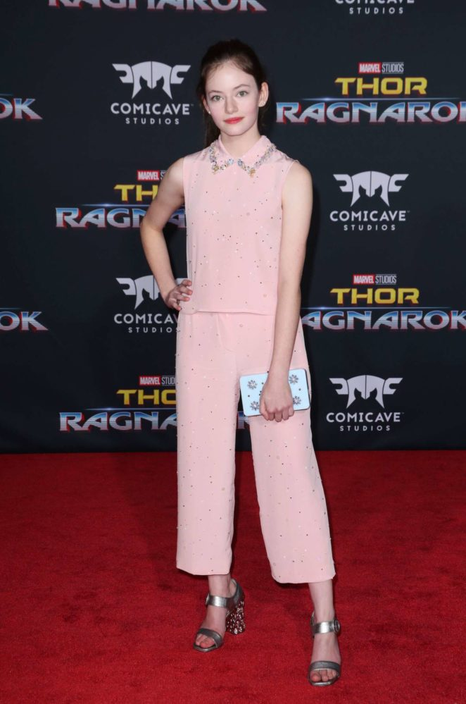 Mackenzie Foy: Thor: Ragnarok Premiere in Los Angeles -13