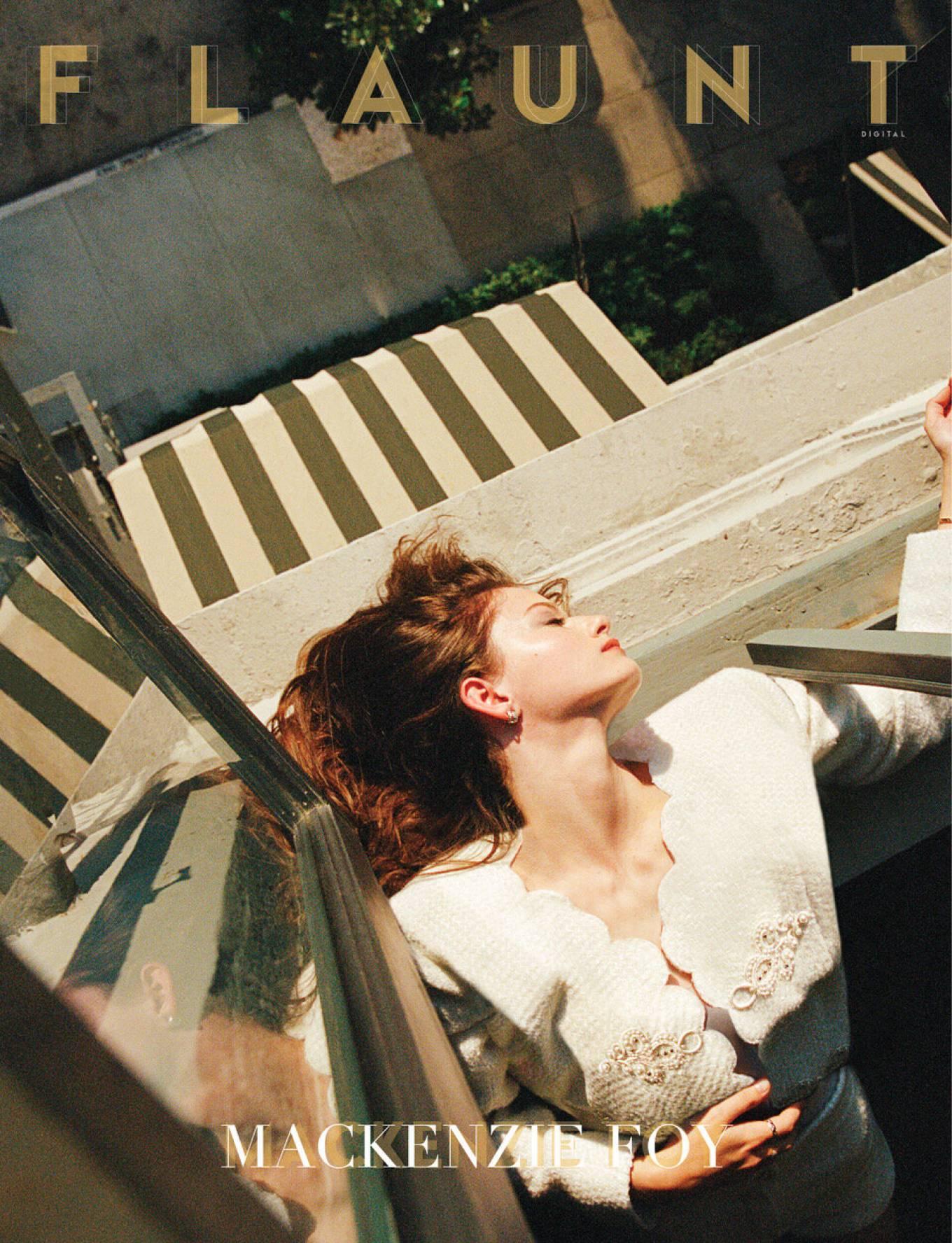 Mackenzie Foy 2020 : Mackenzie Foy – Wearing Chanel in photoshoot for Flaunt Magazine-03