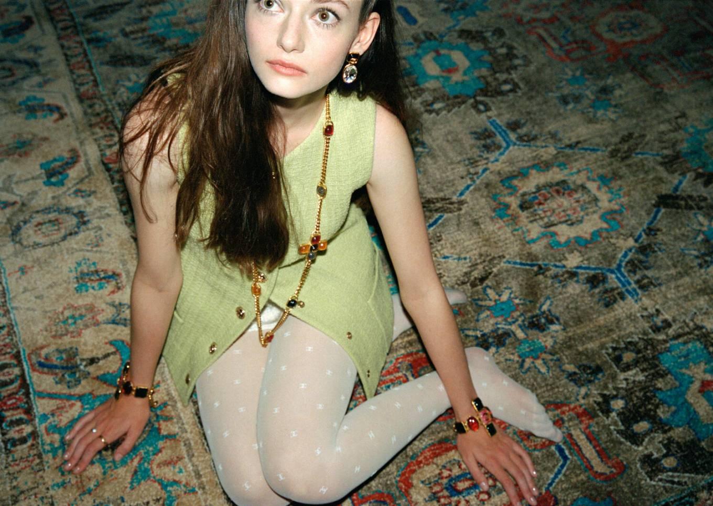 Mackenzie Foy - Wearing Chanel in photoshoot for Flaunt Magazine