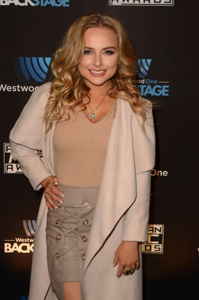Mackenzie Nicole - Westwood One Backstage at The American Music Awards Day 2 in LA