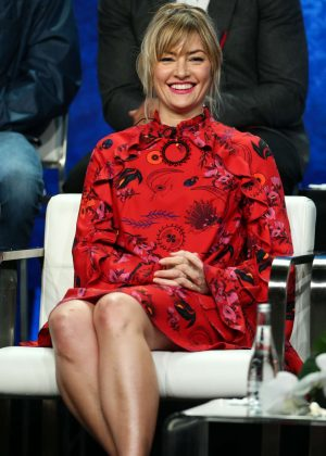 Madchen Amick - 'Riverdale' Panel at 2018 TCA Summer Press Tour in Los Angeles