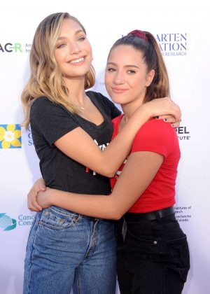 Maddie and Mackenzie Ziegler - Stand Up To Cancer Live in Los Angeles