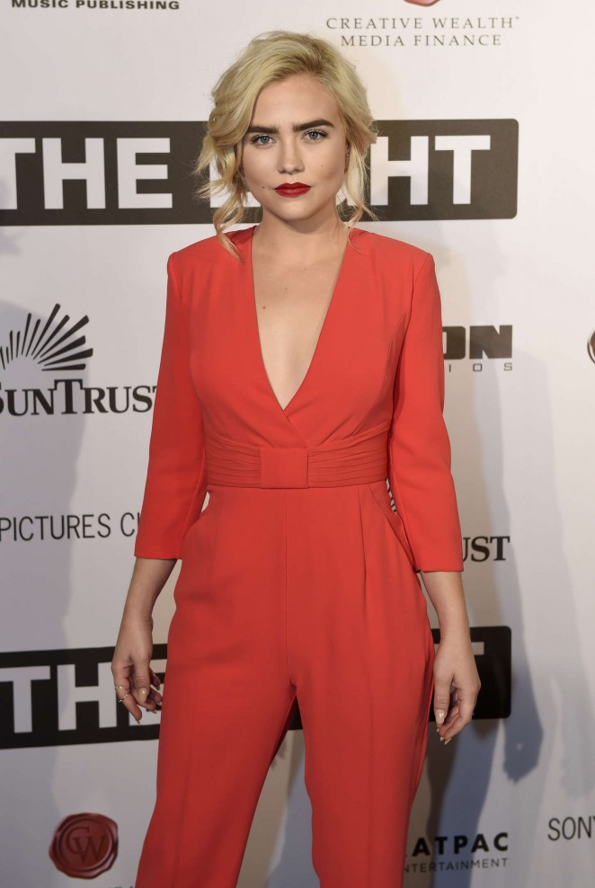 Maddie Hasson - 'I Saw The Light' Premiere in Nashville