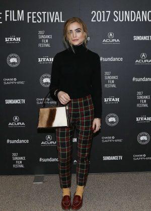Maddie Hasson - 'Novitiate' Premiere at 2017 Sundance Film Festival in Utah
