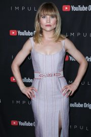 Maddie Hasson - Possing at 'Impulse' Season 2 special screening in West Hollywood