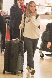 Maddie Ziegler - Arriving in Sydney