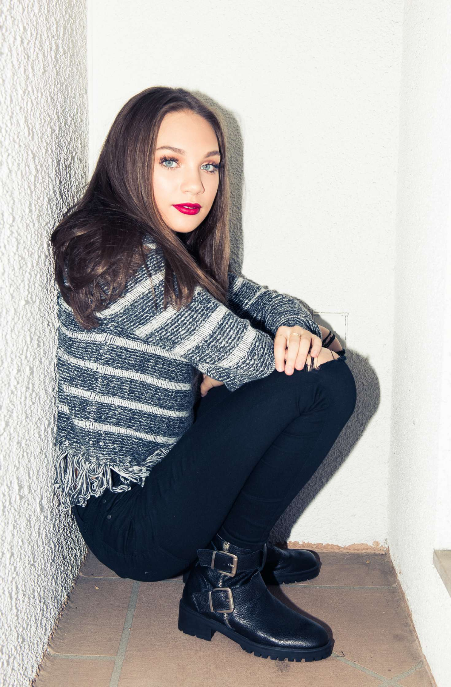 Maddie Ziegler by Jake Rosenberg The Coveteur Shot