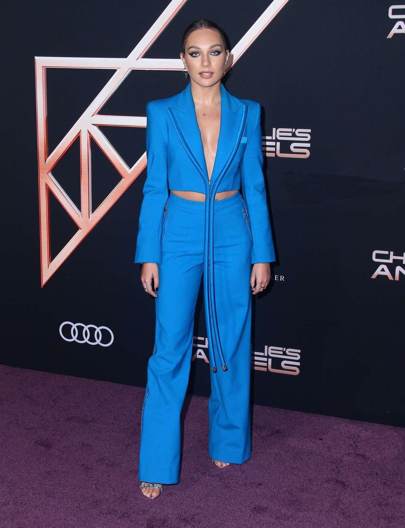 Maddie Ziegler 2019 : Maddie Ziegler – Charlies Angels Premiere in Westwood-12