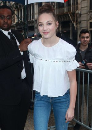 Maddie Ziegler in Jeans out in New York City