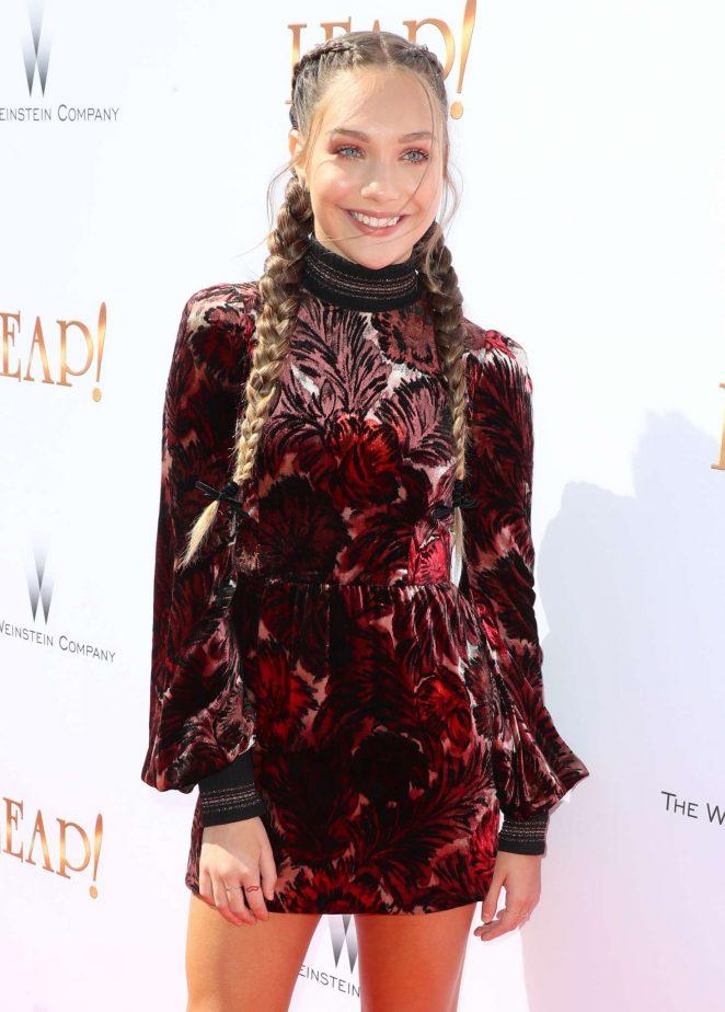 Maddie Ziegler - 'Leap!' Premiere in Los Angeles