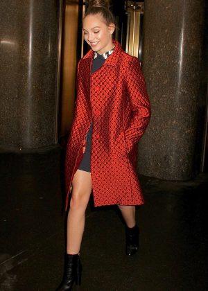 Maddie Ziegler Leaving NBC Studios in New York