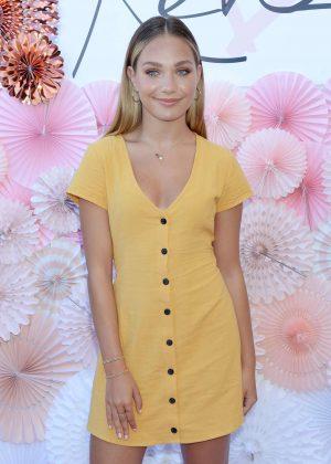 Maddie Ziegler - Mackenzie Ziegler Launches New BeautyLine 'Love Kenzie' in Hollywood