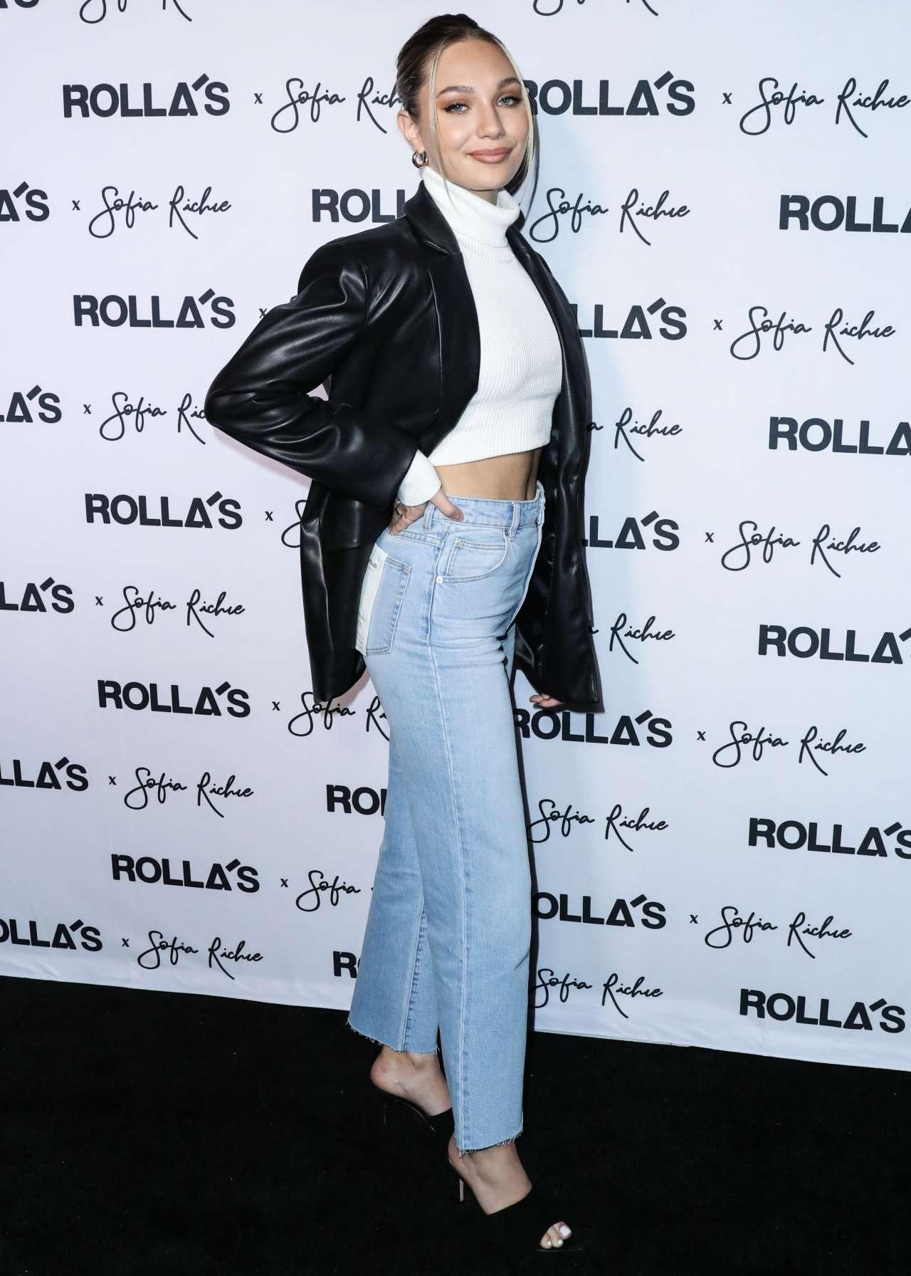 Maddie Ziegler 2020 : Maddie Ziegler – Rollas x Sofia Richie Collection Launch Event in Los Angeles-09