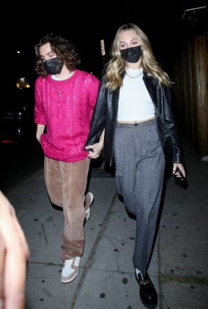 Maddie Ziegler - With boyfriend Eddie Benjamin out in Los Angeles