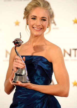 Maddy Hill - 2015 National Television Awards in London