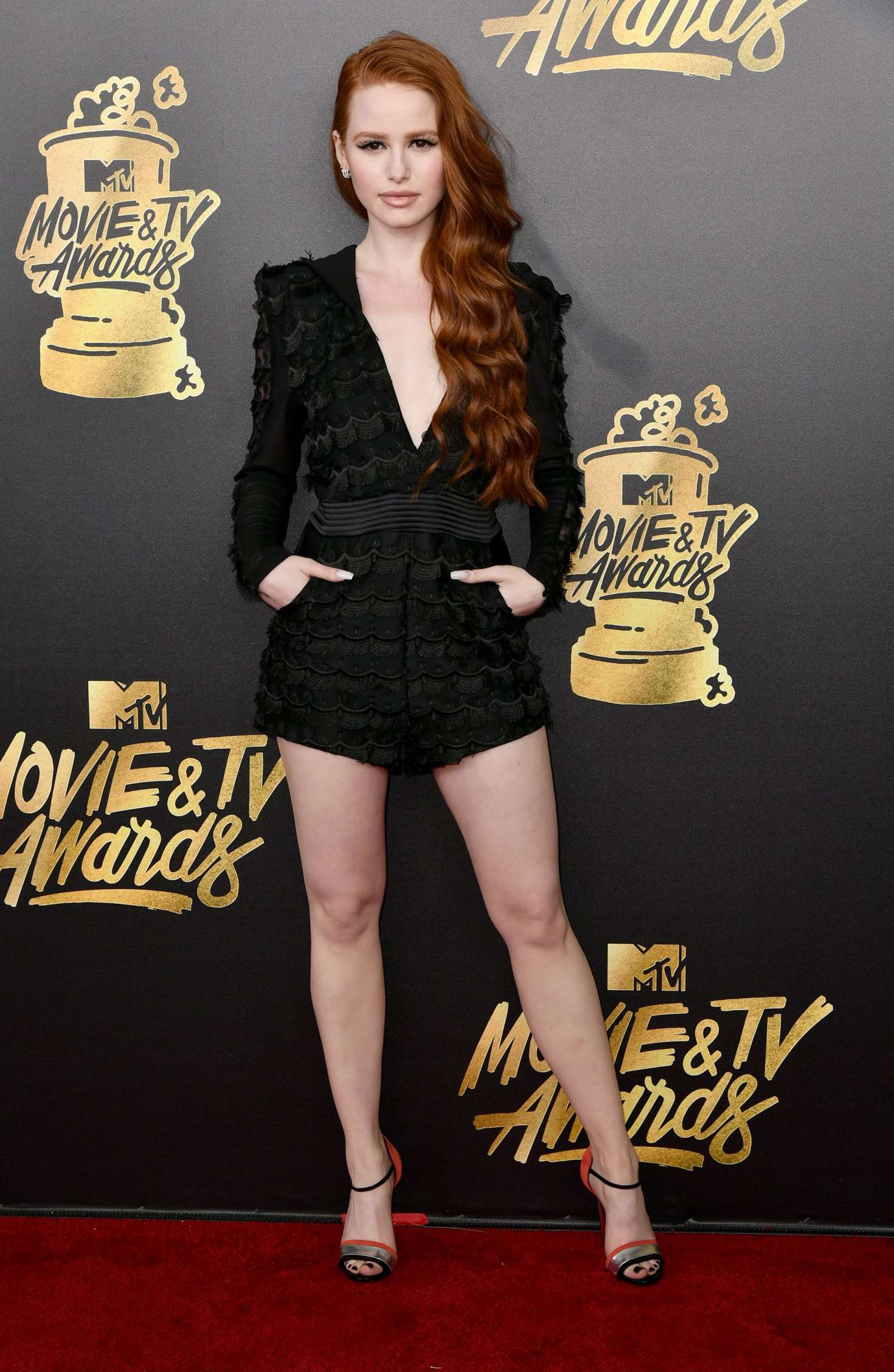 Madelaine Petsch - 2017 MTV Movie And TV Awards in Los Angeles