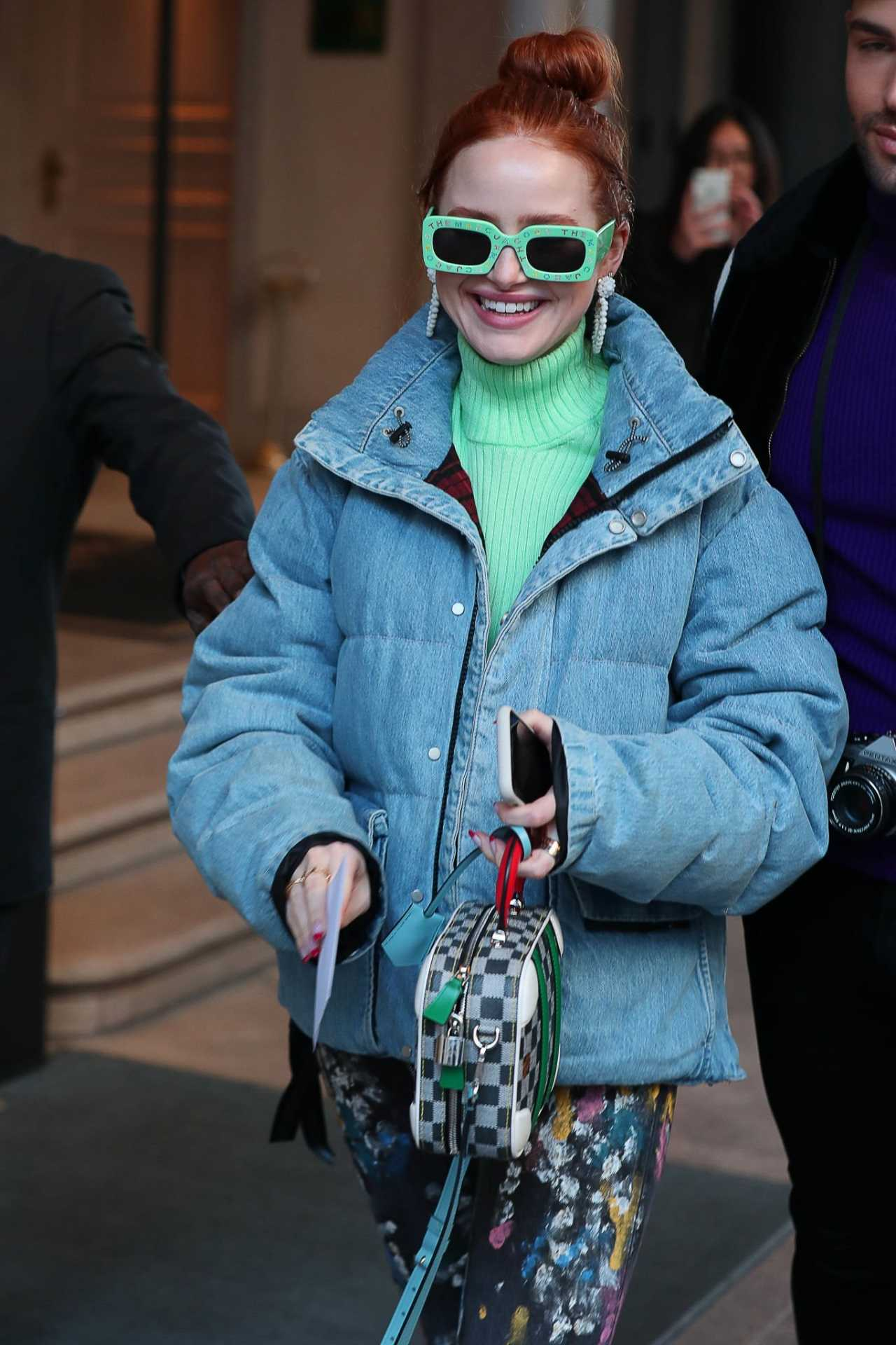 Madelaine Petsch - All smiles in Milan during fashion week