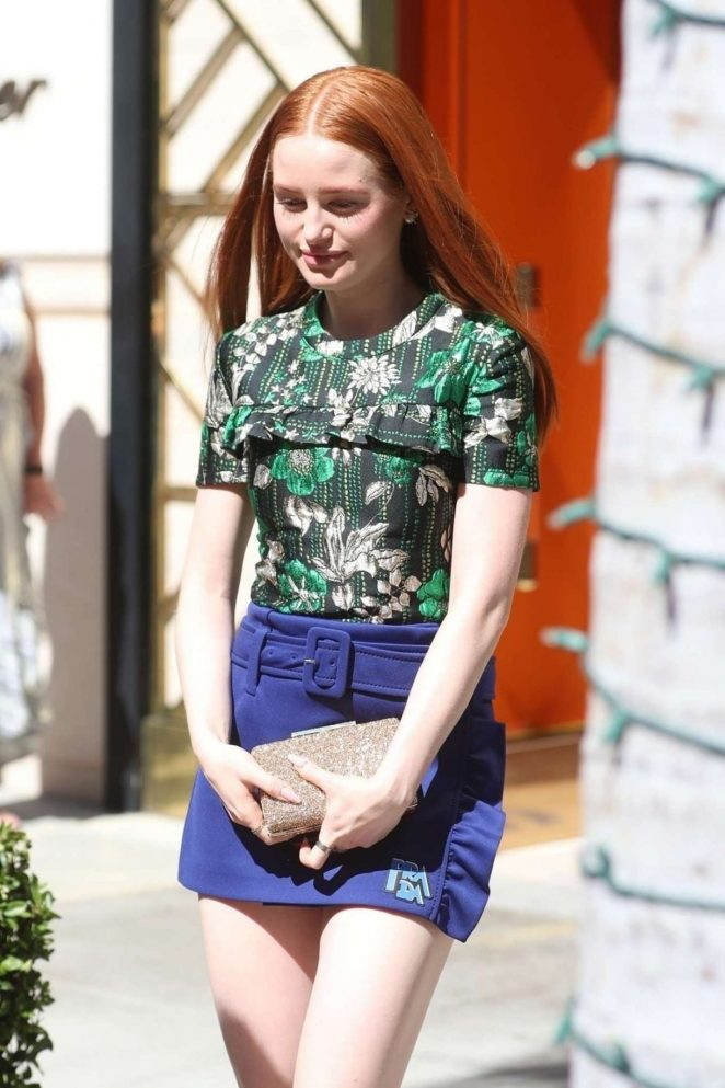 Madelaine Petsch - Attends the Tory Burch Party in Beverly Hills