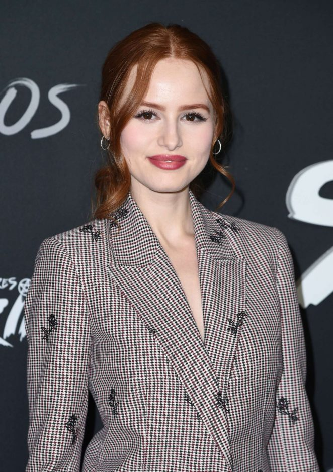 Madelaine Petsch - 'Chilling Adventures of Sabrina' Premiere in Los Angeles