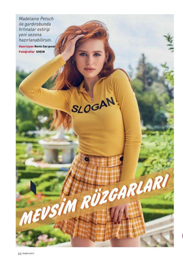 Madelaine Petsch - Hey Girl Magazine (October 2019)