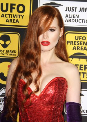 Madelaine Petsch - Just Jared Halloween Party 2016 in Los Angeles