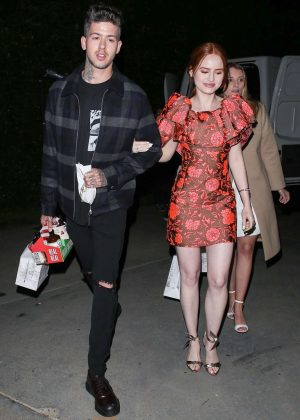 Madelaine Petsch - Night out in Los Angeles