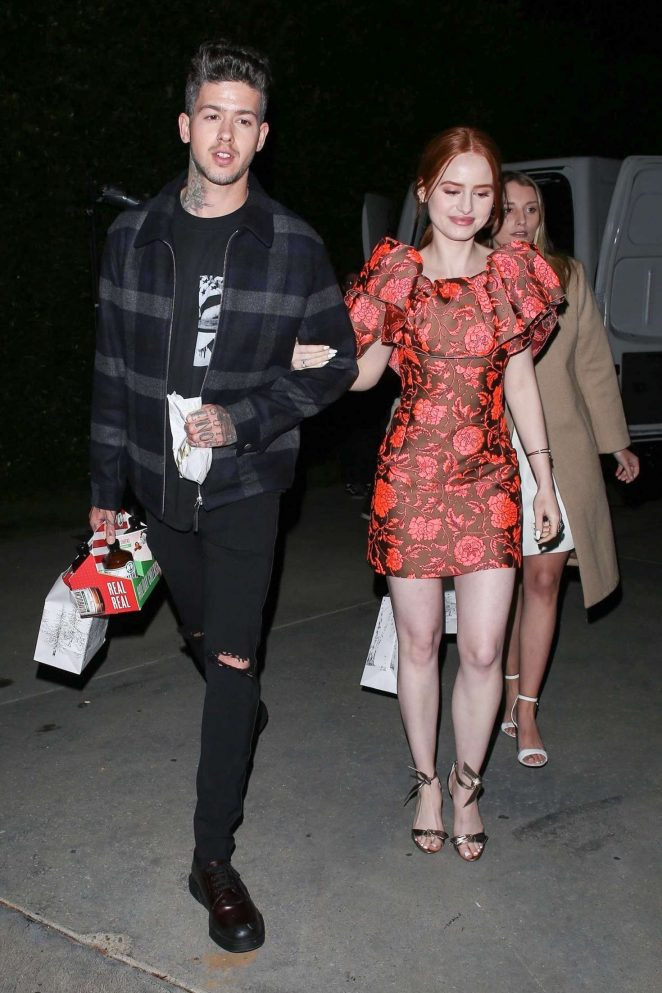 Madelaine Petsch – Night out in Los Angeles