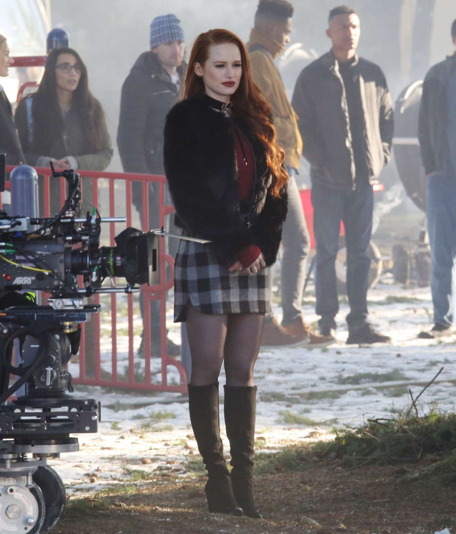 Madelaine Petsch On The Set Of Riverdale 07 Gotceleb