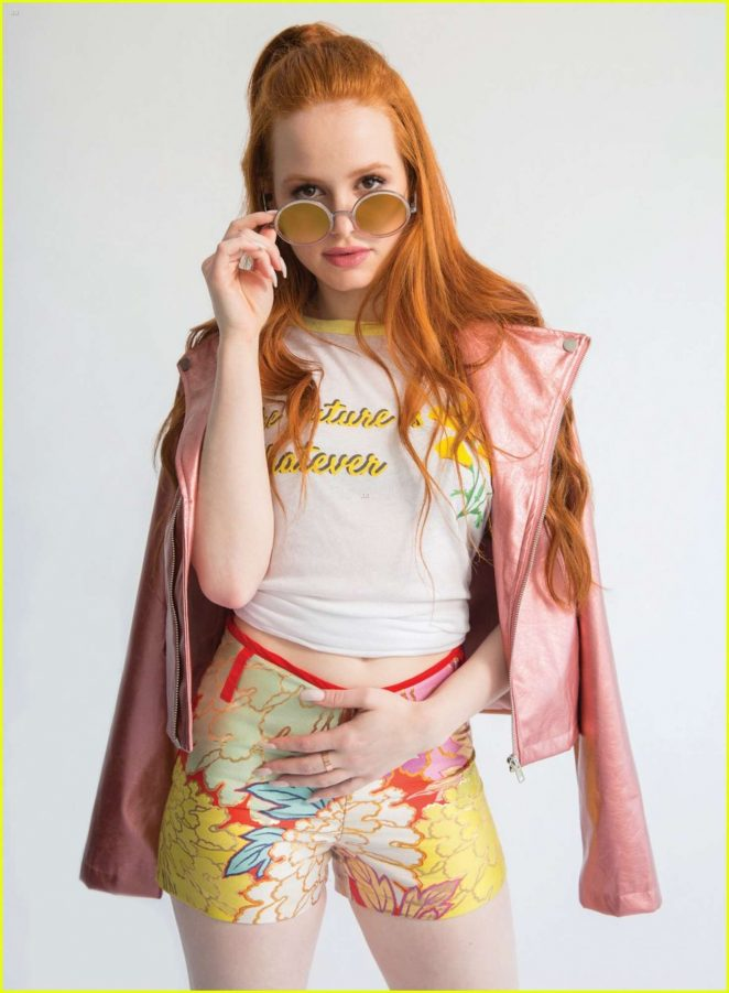 Madelaine Petsch - Popular Magazine (June 2017)