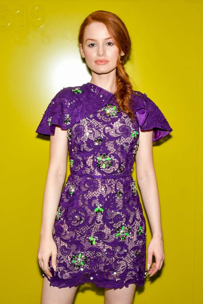 Madelaine Petsch - Prada Womenswear Fashion Show in Milan