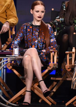 Madelaine Petsch - 'Riverdale' panel during the 2017 Winter TCA Tour in Pasadena