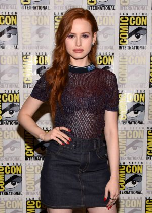 Madelaine Petsch - 'Riverdale' Press Line at 2018 Comic Con in San Diego