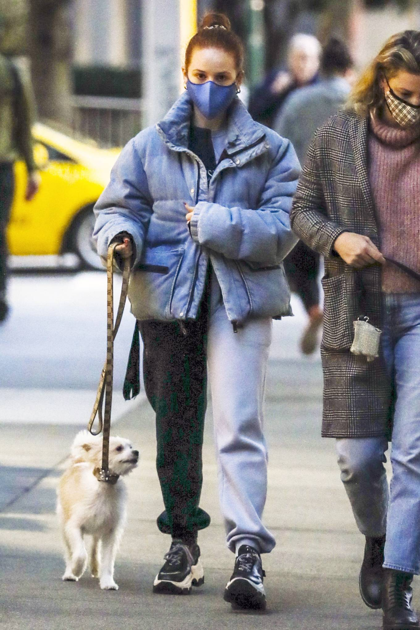 Madelaine Petsch - Seen walking her dog in Vancouver