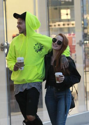 Madelaine Petsch - Shopping at The Grove in LA