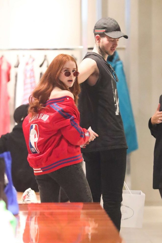 Madelaine Petsch - Shopping in Beverly Hills