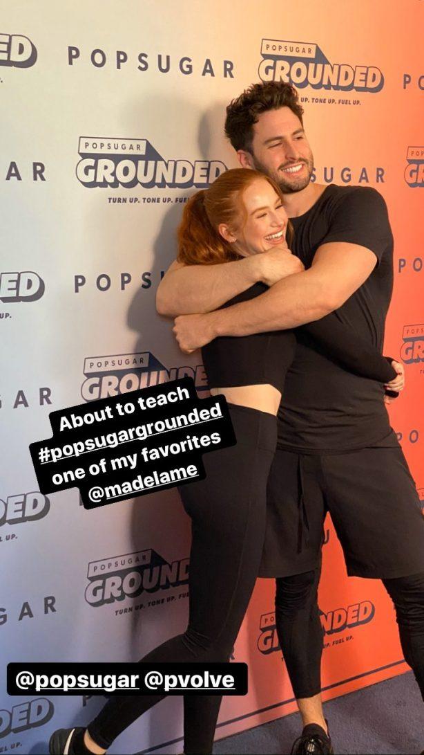 Madelaine Petsch - Social media