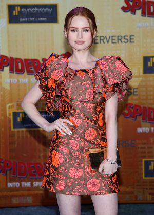Madelaine Petsch - 'Spider-Man: Into The Spider-Verse' Premiere in Westwood
