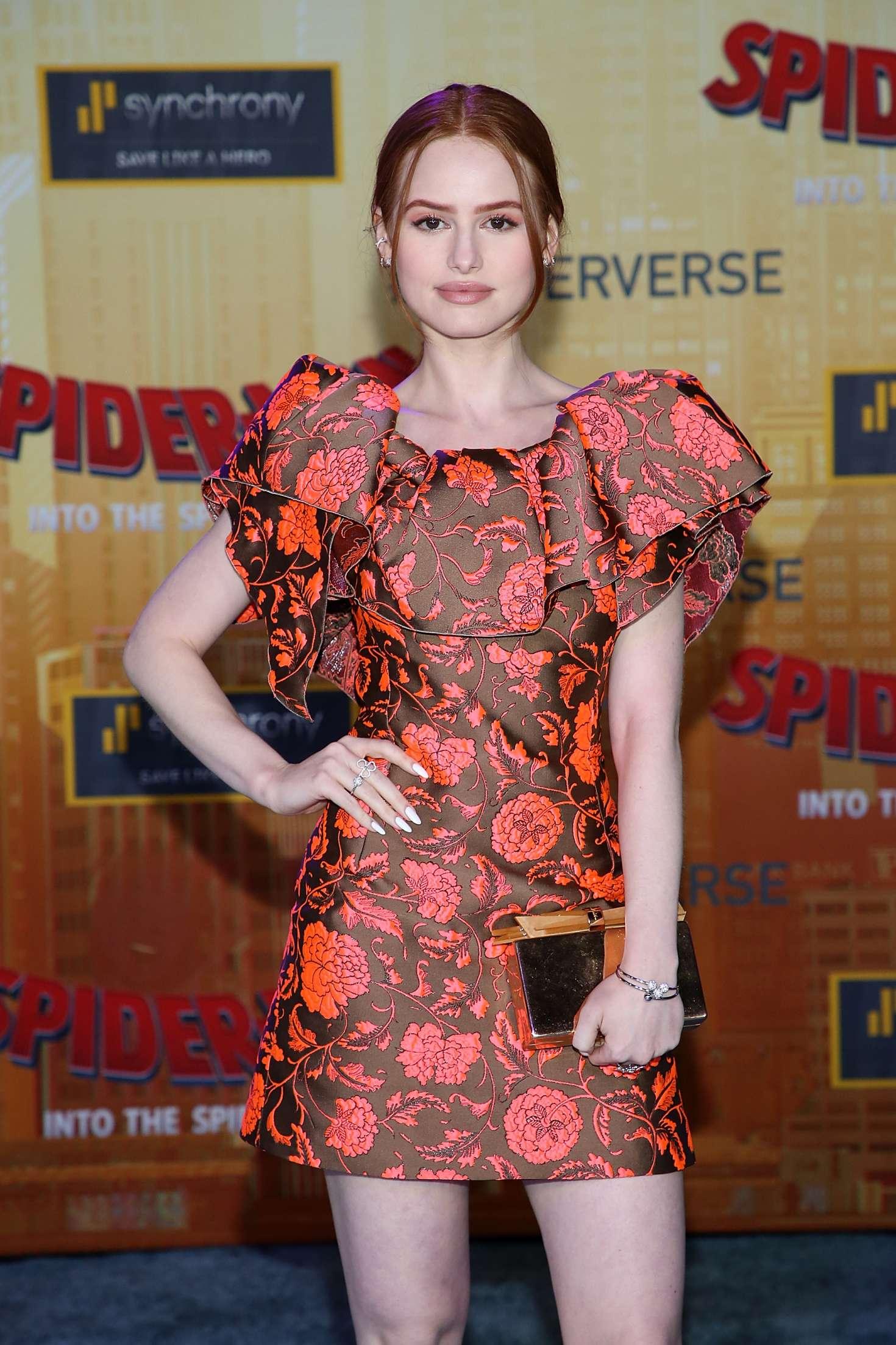 Madelaine Petsch - 'Spider-Man: Into The Spider-Verse' Premiere in Westwood