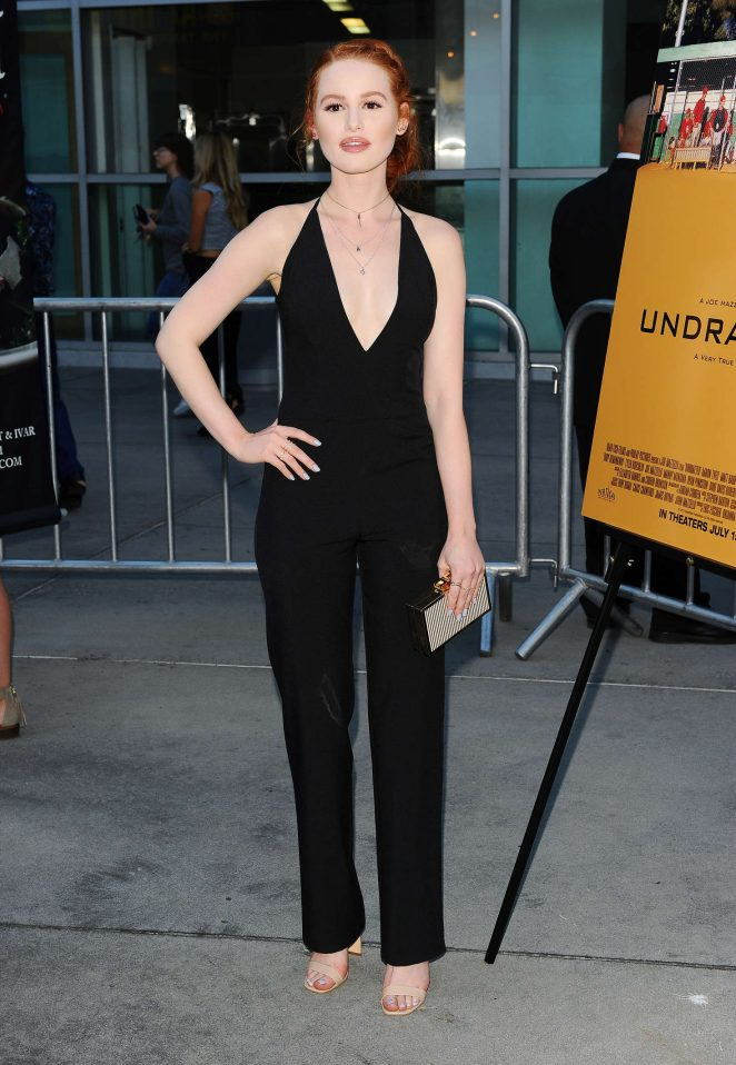 Madelaine Petsch: Undrafted LA Premiere -05