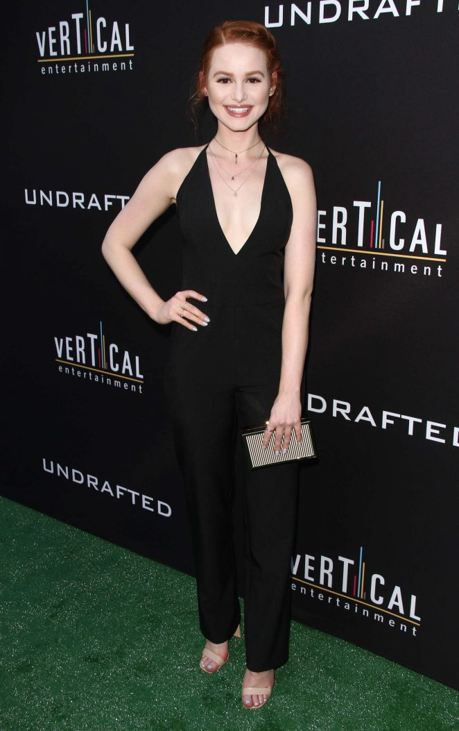 Madelaine Petsch: Undrafted LA Premiere -14