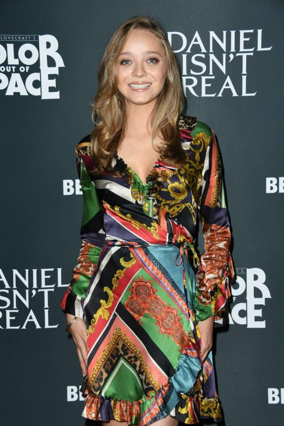 Madeleine Arthur - 'Color Out of Space' and 'Daniel Isn't Real' Screening in LA