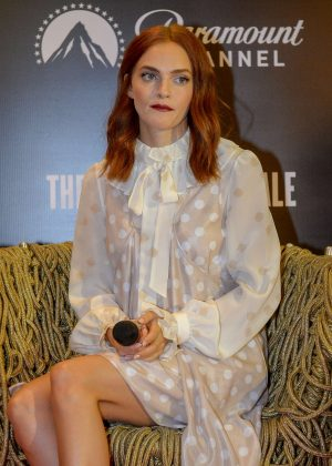 Madeline Brewer - 'The Handmaid's Tale' Press Conference in Sao Paulo