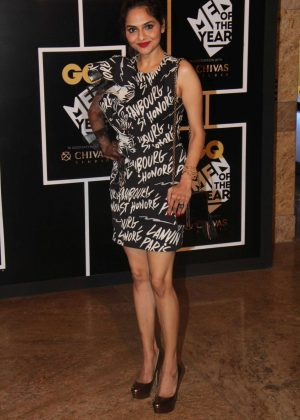 Madhoo Shah - GQ India's Men of the Year Awards 2016 in Mumbai
