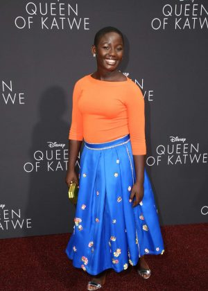 Madina Nalwanga - 'Queen of Katwe' Premiere in Los Angeles