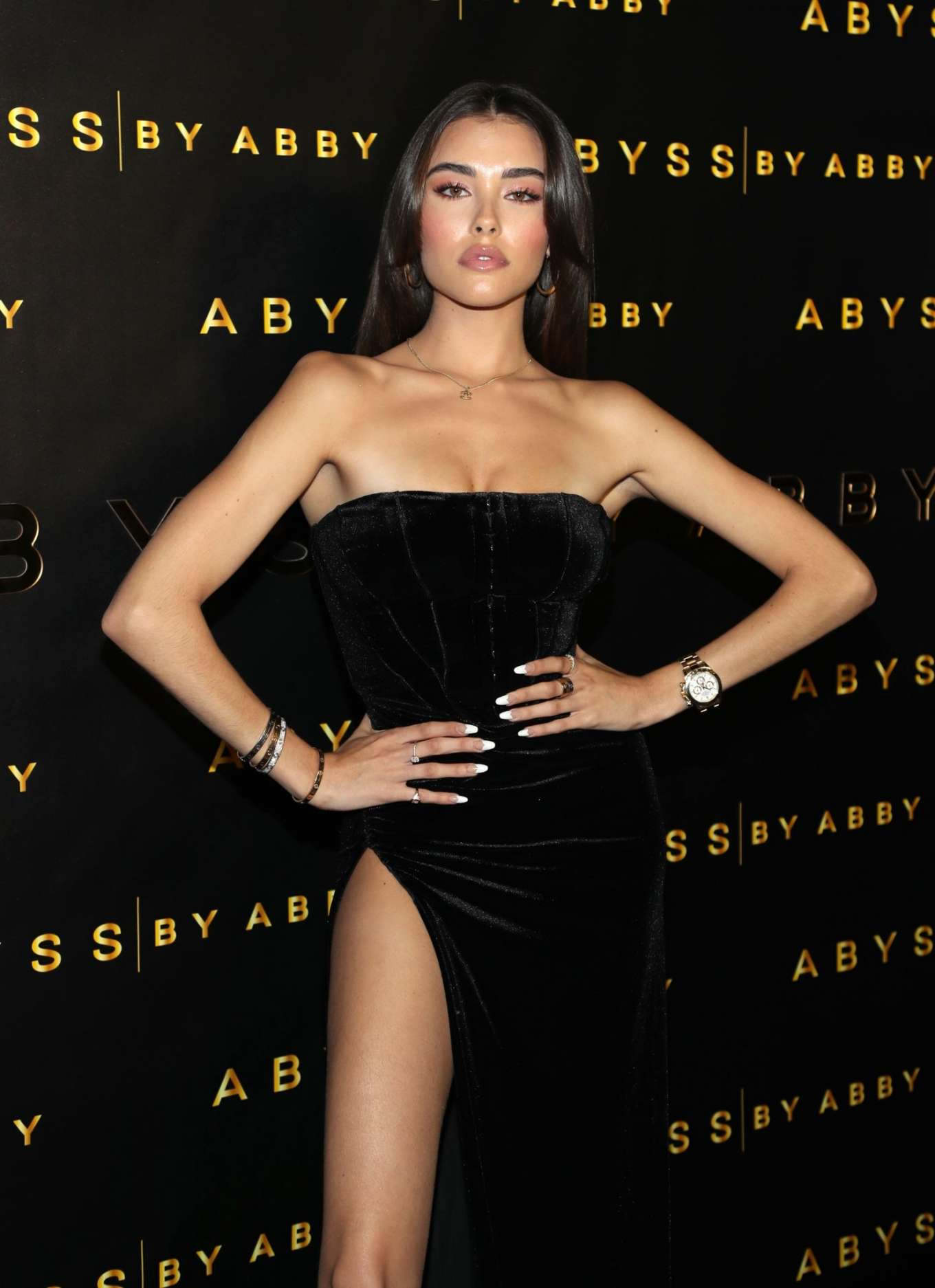 Madison Beer - Abyss By Abby Launch at Beauty and Essex in LA