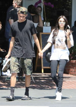Madison Beer and Boyfriend Jack Gilinsky Shopping in West Hollywood