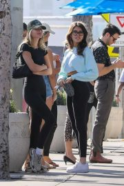 Madison Beer and Isabella Jones - Out for lunch in Los Angeles
